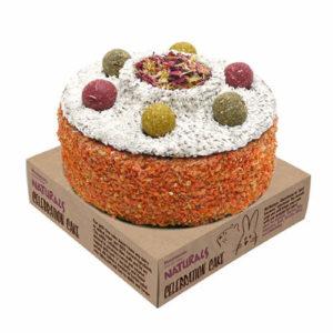 Naturals festlig kake til smådyr fra Omlet