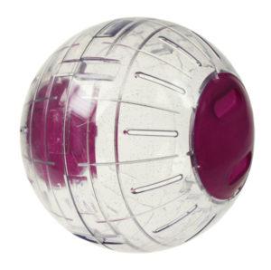 Glitter mosjonsball fra Omlet lar kjæledyret ditt mosjonere i hele hjemmet ditt.